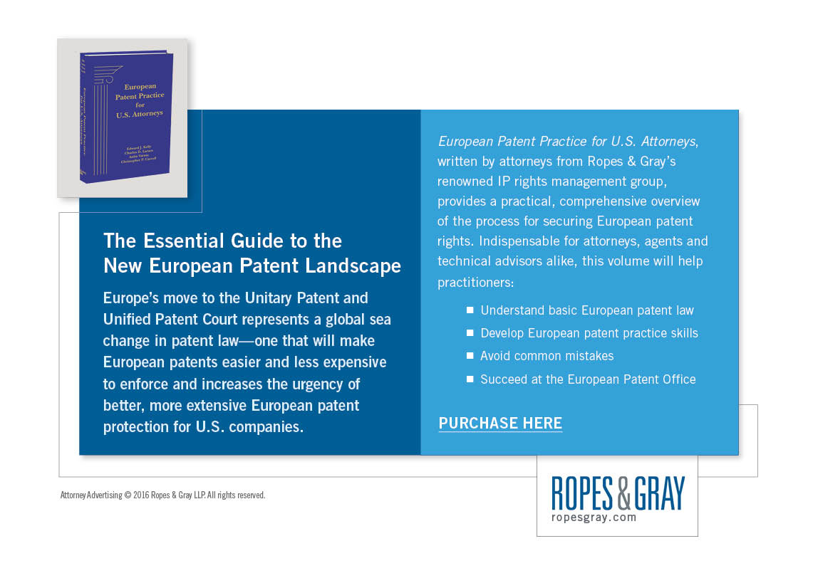 thumbnail for The Essential Guide to the New European Patent Landscape