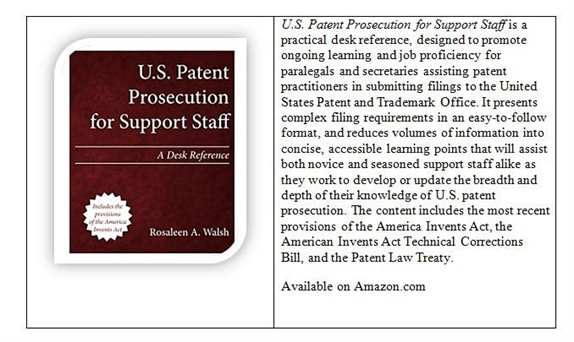 thumbnail for U.S. Patent Prosecution for Support Staff